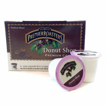 Premier Roasters Donut Shop Blend, Single Serve - Caruso's Coffee, Inc.