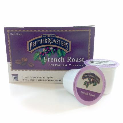 Premier Roaster's French Roast, Single Serve - Caruso's Coffee, Inc.
