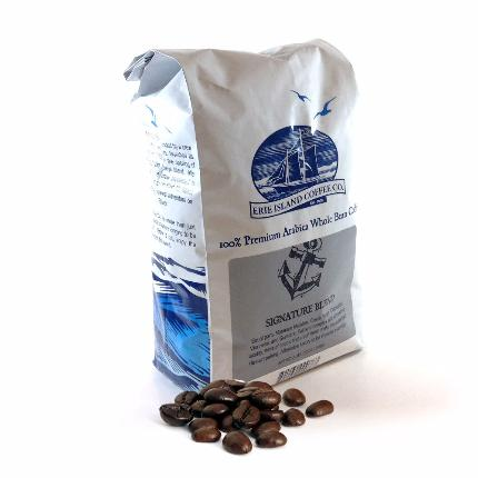 Erie Island Coffee: Whole Bean Signature Blend - Caruso's Coffee, Inc.