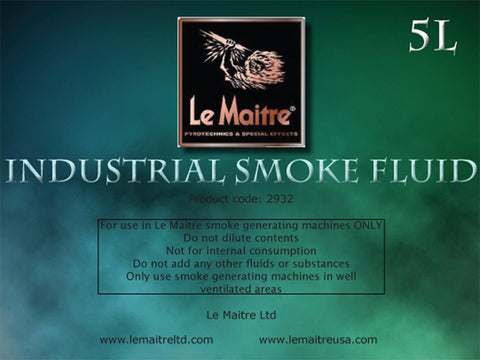 Le Maitre INDUSTRIAL FLUID (for use in G300/G300-SMART/GF1/GF2/GF3) - 1to1 Music