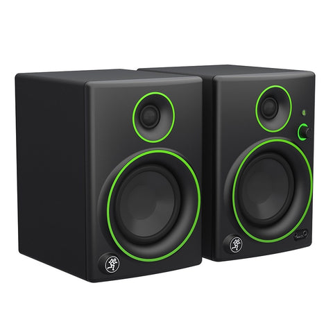 Mackie CR4BT Active Studio Monitors with Wireless Bluetooth and FREE Isolation Pads - 1to1 Music