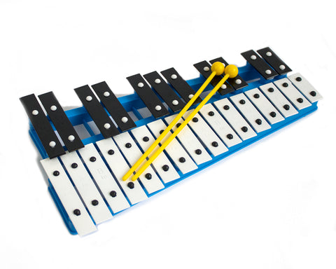 ProKussion Blue 27 Key Chromatic Glockenspiel (Cover Optional)