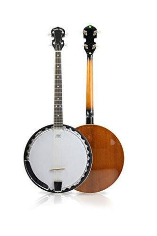 Clareen Banjos Ireland - 'The Bridge' Folk Bluegrass Tenor Banjo - 1to1 Music