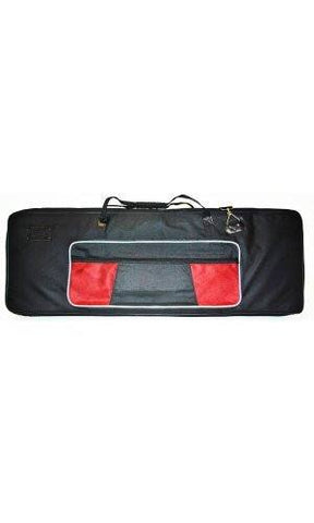 Reinforced Keyboard Bag - 61 Keys - Thick, Padded + Large Pockets, Strap + Handle - Small - 1to1 Music