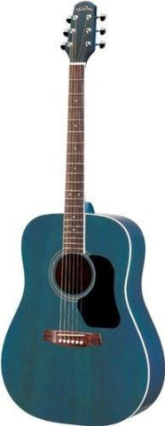 WALDEN D 351 SU W BLUE DELUXE GIGBAG Acoustic guitars Acoustic guitars - 1to1 Music