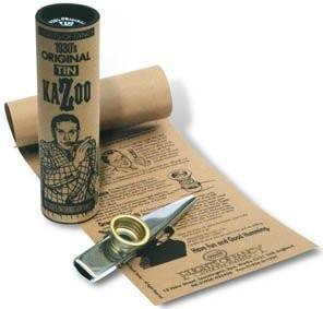 Original Tin Kazoo - Gold Top Clarke - 1to1 Music