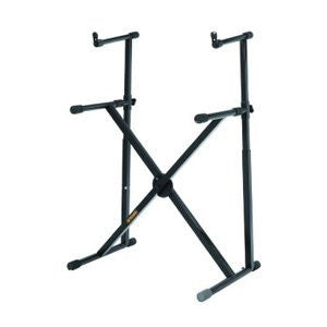 Hercules KS210B Double Tier X Keyboard Stand - 1to1 Music