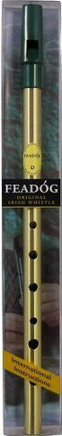 Feadóg Single Pack Brass D Original Irish Whistle - 1to1 Music