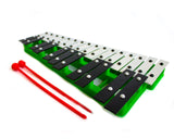 ProKussion Green 27 Key Chromatic Glockenspiel (Cover Optional)