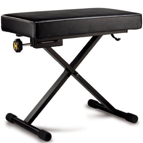 Hercules - Adjustable Keyboard Bench KB200B - 1to1 Music