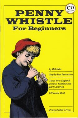 Penny Whistle Tutor book and CD for Beginners - 1to1 Music