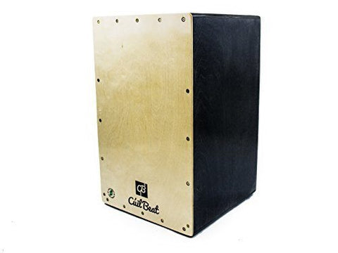 The Irish Cúil Aine Cajon - Made in Ireland - Walnut - 1to1 Music