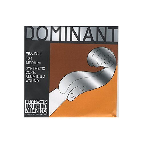 Dominant Strings 131 4/4 Aluminium Wound Violin A String - 1to1 Music