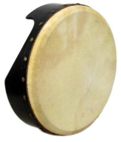 Waltons 10AWAL-2410 Professional Bodhran - Tunable - 40.6 cm / 16 Inches - Black - 1to1 Music