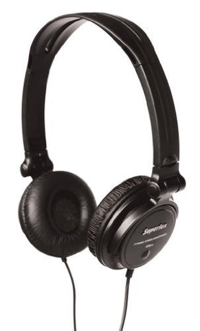 Superlux HD572 headphone - headphones (Black, Supraaural, 20 - 20000 Hz, 156 x 70 x 182 mm, Head-band, semi-open) - 1to1 Music