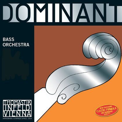 Dominant Double Bass SOLO B. Chrome Wound 3/4*R - 1to1 Music
