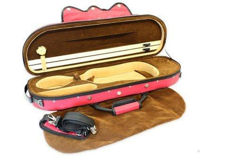 Deluxe Soft Interior Full Size Violin Case - 1to1 Music