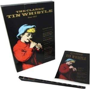 Clarke WTCD D Whistle Set with Book and CD - 1to1 Music