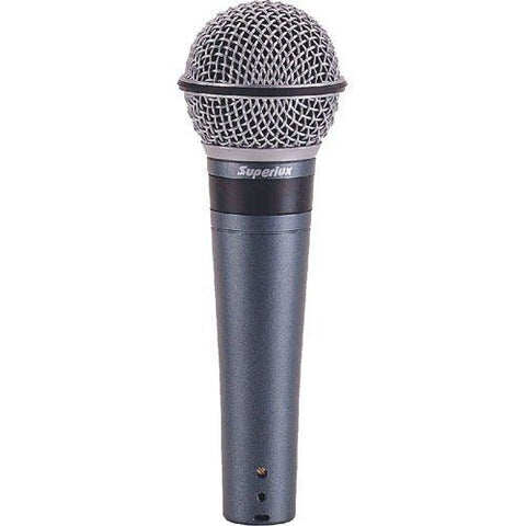 Superlux TOP-248 Professional Vocal Mic Series- Supercardioid dynamic microphone - 1to1 Music