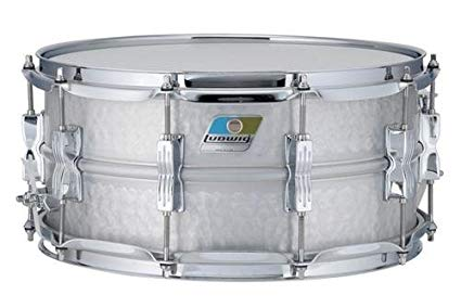 Ludwig LM405K 6.5X14 HAMMERED ALUMINUM ACROLITE SD 14 x 6.5 in. - 1to1 Music