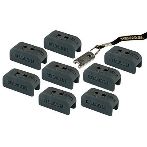 Hercules HA201 System Lock-10 Pack - 1to1 Music
