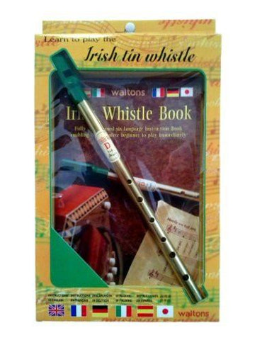 Learn To Play The Irish Tin Whistle: Book & Whistle - 1to1 Music