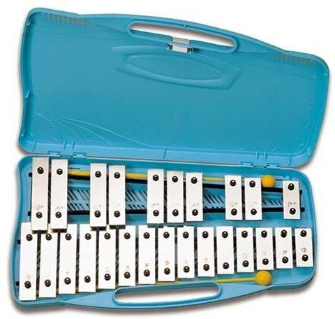XYLOPHONE-Angel (AX25N2) Chromatic Chrome 25 Plates - 1to1 Music