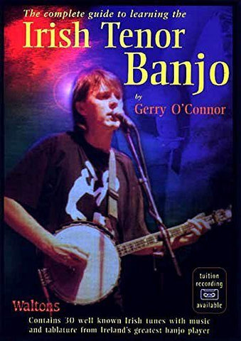 Gerry O'Connor: Complete Guide To Learning The Irish Tenor Banjo - Sheet Music, CD - 1to1 Music