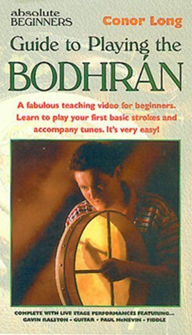 Conor Long Absolute Beginner's Bodhran Tutor DVD - 1to1 Music
