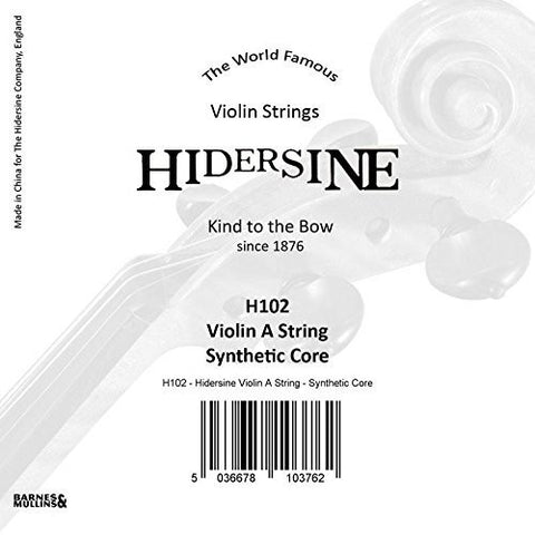 Hidersine Strings Violin A String Synthetic core - 1to1 Music