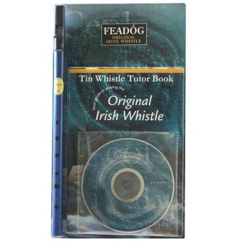 Feadóg Blue D Whistle with Book & CD - 1to1 Music