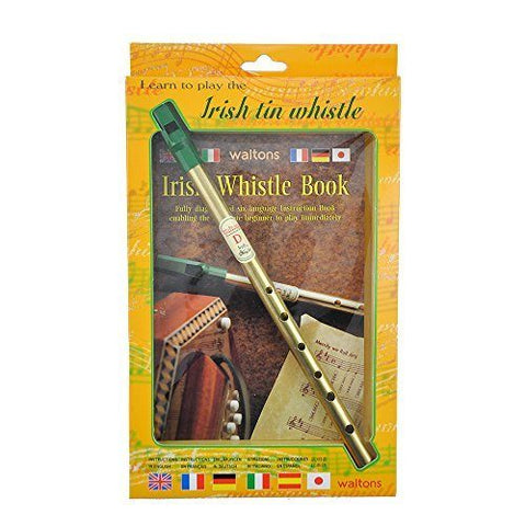 Walton's Irish Tin Whistle in D Book - 1to1 Music