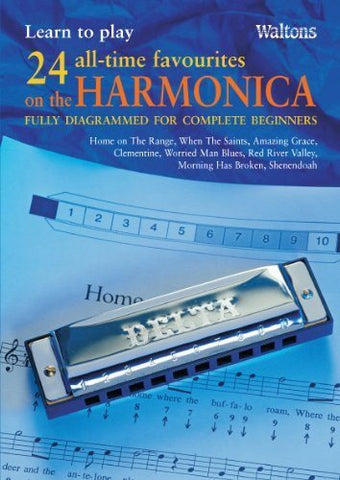 Waltons Beginner's Harmonica Book - 1to1 Music