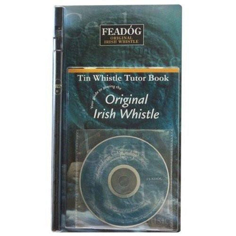 Feadóg Black Pro D Whistle with Book & CD - 1to1 Music