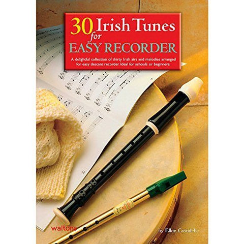 Waltons 30 Irish Tunes For Easy Recorder Book - 1to1 Music