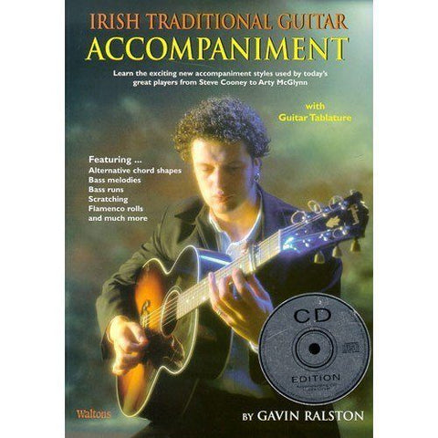 Irish Traditional Guitar Accompaniment. Sheet Music, CD for Guitar(with Chord Boxes), Guitar Tab(with Chord Boxes) - 1to1 Music
