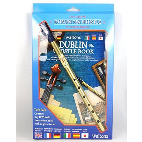 Dublin Tin Whistle Twin Pack - 1to1 Music
