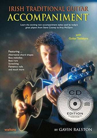 Waltons Irish Traditional Guitar Tution Book With CD - 1to1 Music