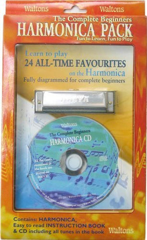 Waltons 1532 harmonica pack, book, CD, harp - 1to1 Music