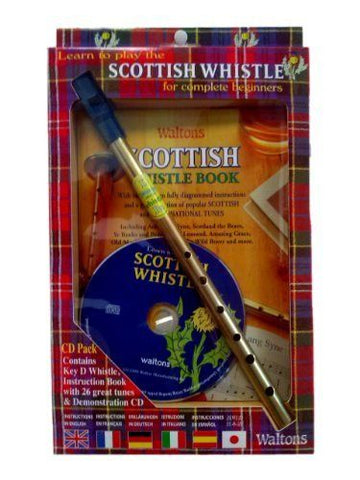 Scottish Tin Whistle Pack + CD - 1to1 Music