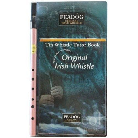 Feadóg Pink D Whistle with Tutor Book - 1to1 Music