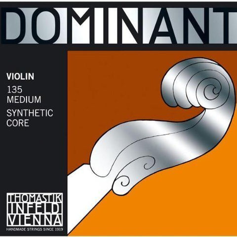Dominant Strings 135 4/4 Violin Set - 1to1 Music