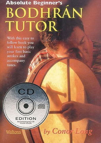 Absolute Beginner's Bodhran Tutor Book - 1to1 Music
