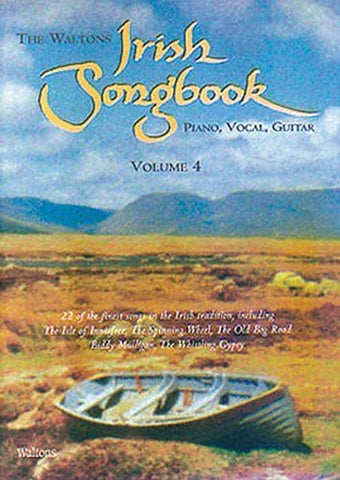 The Waltons Irish Songbook: v. 4: Piano, Vocal, Guitar - 1to1 Music