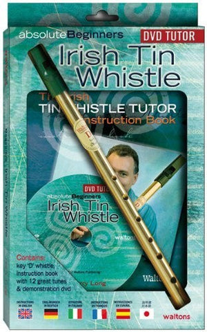 WALTONS IRISH TIN WHISTLE PACK + CD - FLUTE Sheet music pop, rock Music from all over the world - 1to1 Music