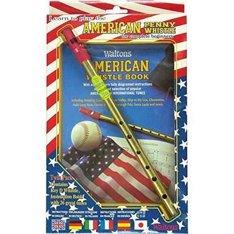 Waltons American Penny Whistle Value Pack - 1to1 Music