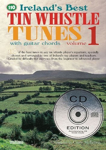 Ireland's Best Tin Whistle Tunes, Volume 1 [With 2 CDs] (Ireland's Best Collection) - 1to1 Music