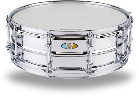 "Ludwig Supralite Snare LW0515SL, 15""x5"", Chrome - 1to1 Music"