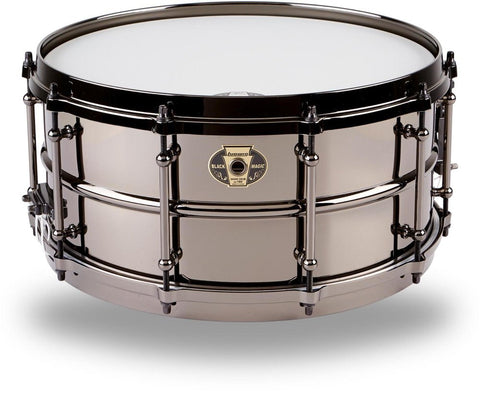 LUDWIG BLACK MAGIC - 14 X 6.5 - LW6514 Snare drums Metal snares - 1to1 Music