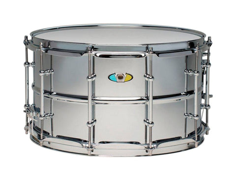 "Ludwig Supralite Snare LW0814SL, 14""x8"", Chrome - 1to1 Music"